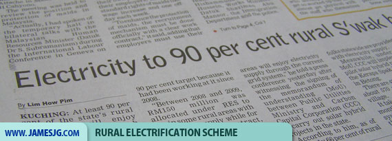 Rural electrification Scheme